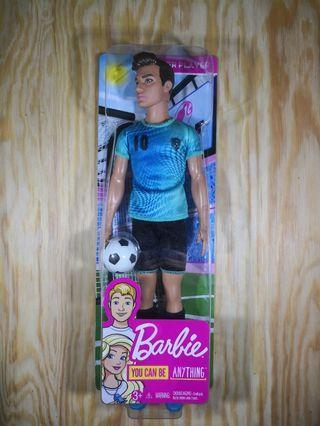 NEW: Barbie Career Ken Soccer Player Doll