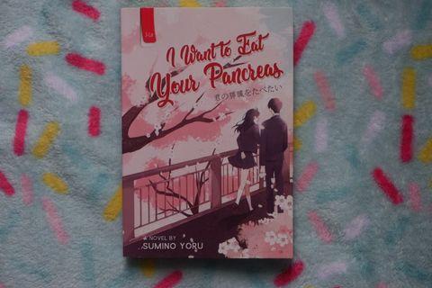 Novel romance i want to eat your pancreas