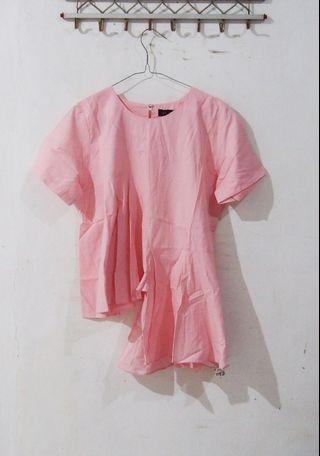 [PRELOVED] VOW Pink Blouse