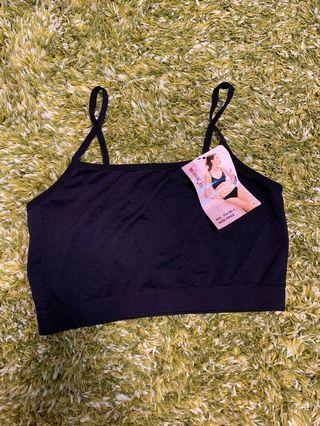 黑色吊帶內衣打底 Underwear