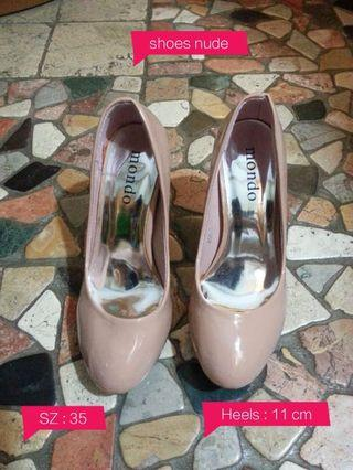 Shoes soft pink