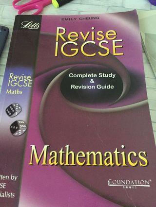 LETTS maths textbook