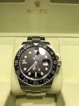 MINT 2013 GMT MASTER II 116710LN