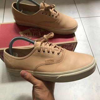 US7 Vans Authentic Veggie Tan
