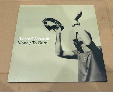 "Richard Ashcroft Money To Burn 12"" Single"