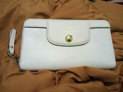 Longchamp clutch wallet authentic