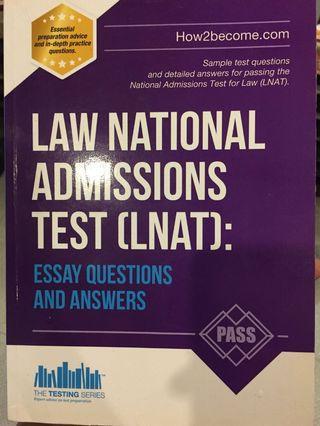 Law National Admissions Test (LNAT)