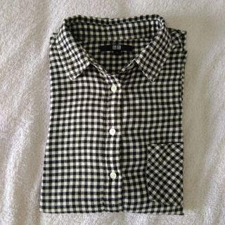 Plaid Flannel shirt Uniqlo