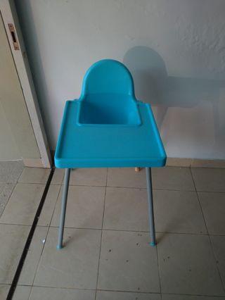 Informa High Baby Chair Biru