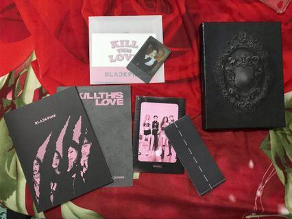 BLACKPINK 2ND MINI ALBUM <KILL THIS LOVE > (UNSEALED)