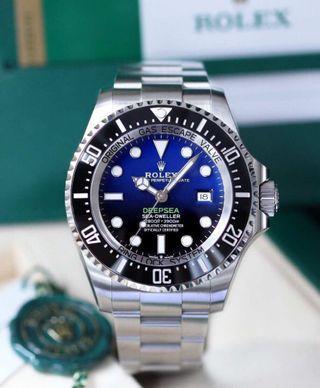 Rolex Deepsea Blue SeaDweller