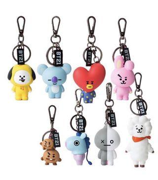 ✨ [EMS PO] BT21 OFFICIAL FIGURE KEY RING