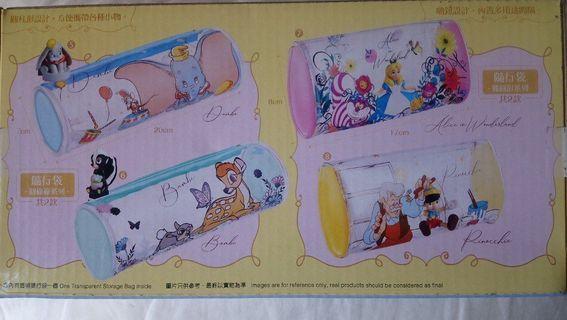 7-11 Disney 迪士尼Alice in wonderland愛麗絲橢圓形隨行袋