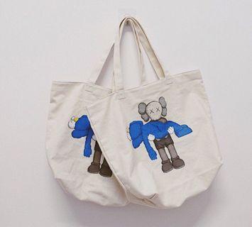 Kaws x Uniqlo Tote Bag