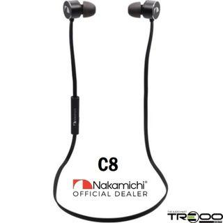 Nakamichi NM C8 Sports Wireless Bluetooth In-Ear Earphone with Microphone