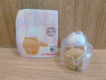 日本 兔丸 杯緣子 第三彈  Usamaru うさまる 公仔 擺設 小物 裝飾