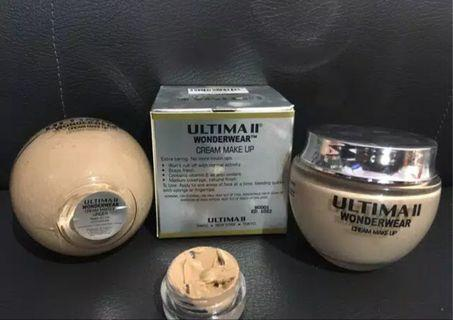 Ultima II Wonderwear Cream makeup share in jar