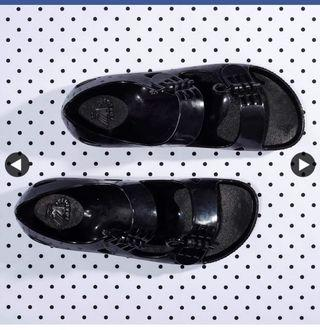 🚚 F-Troupe / Sandal 果凍涼鞋 /黑37