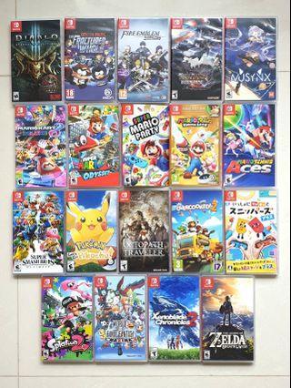 Rent Nintendo Switch Games!