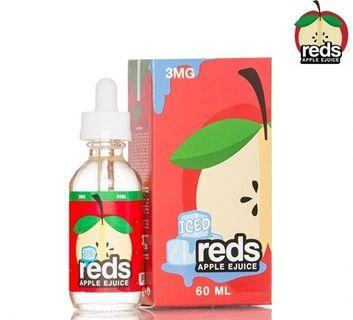 100% Original Reds Apple Grape Juice 60ml Imported