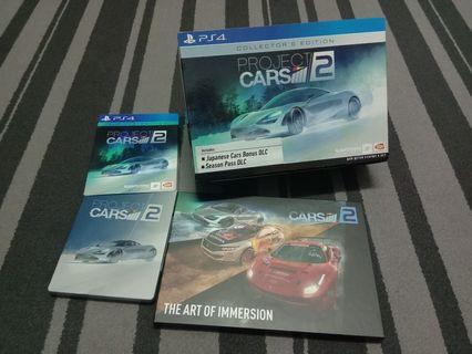 PS4 PROJECT CARS 2 COLLECTOR EDITION (R3)