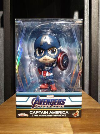 RESTOCK LISTING Hot Toys Avengers: Endgame Captain America (The Avengers Version) Cosbaby MISB