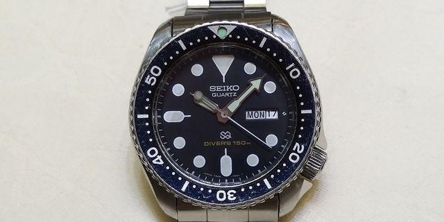 古董SEIKO鋼帶潛水錶