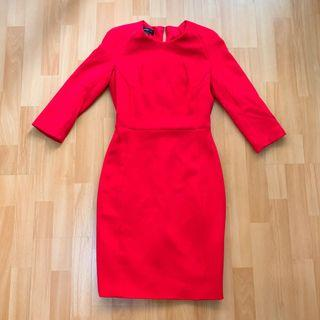 Mng Red suit Dress #junetogo