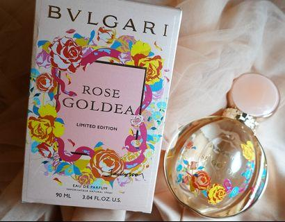 BVLGARI ROSE GOLDEA LIMITED EDITION ORIGINAL BOX