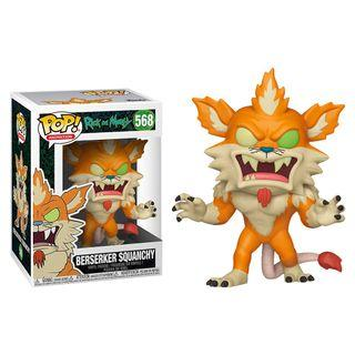Funko Pop - Rick and Morty - Berserker Squanchy