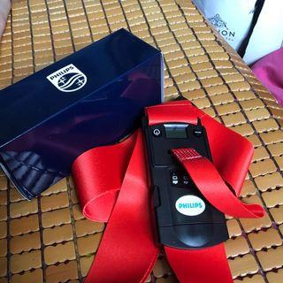 Philips Luggage strap with in-built Number Lock And Weighing Machine