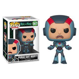 Funko Pop - Rick and Morty - Morty in Purge Suit