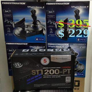 SilverStone ST1200-PT  1000W  80 Plus Platinum Modular Technology Strider 1200 Power Supply (PS-ST1200-PT)...(5Y)..,  or Walk in Tonite for better Offer Rate..,  (# Sales Offer Till 31/7/2019 While our Supplies Last...,.)