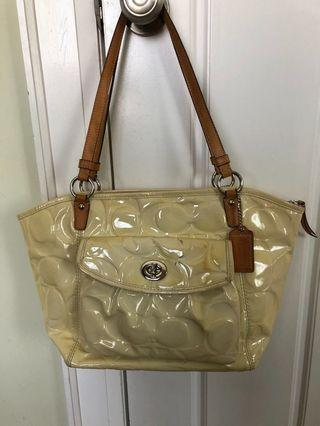 Authentic Coach tote bag!