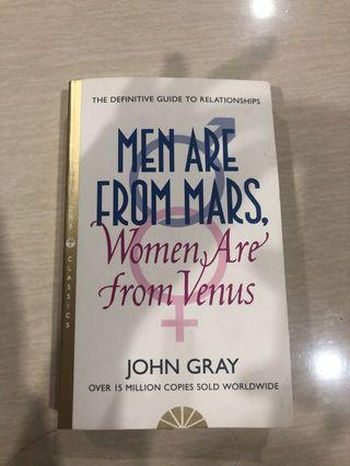 Novels men are from mars