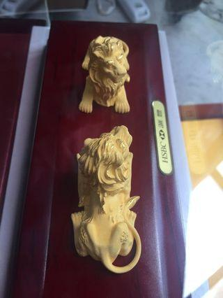 HSBC Gold Plate Lion 割愛