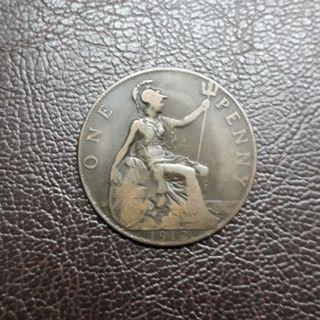 Great Britain One Penny 1912