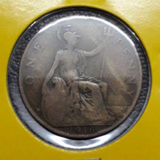 Great Britain One Penny 1916