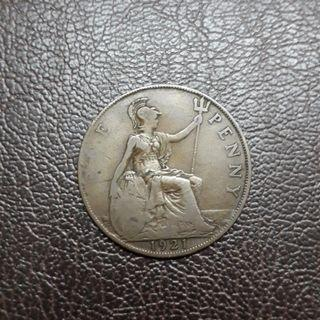 Great Britain One Penny 1921