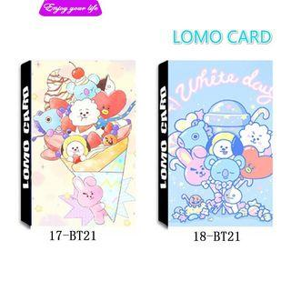 🚚 bt21 lomo cards