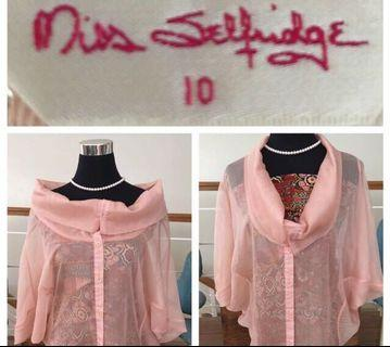 Miss Selfridge cowl neck or off the shoulder top