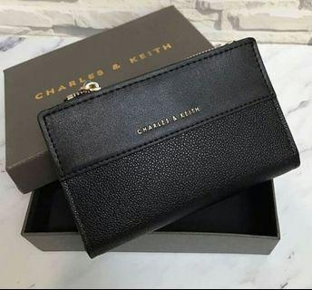 Classic Snap Button Wallet Charles & Keith