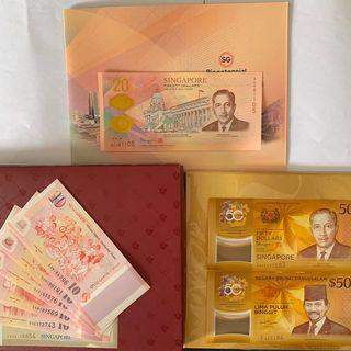 3 Sets of Commemorative Notes