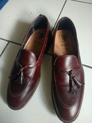 sepatu kulit penny loafer fionnbaxter bukan sperry dr martens timberland