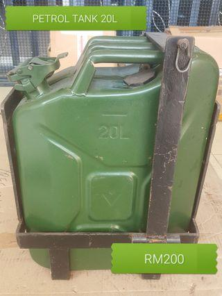 20L Steel Jerry Can or Tank with bracket