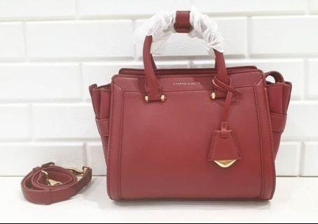 Charles & Keith Trapezze Bag