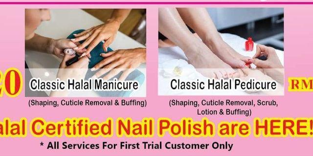 Manicure & Pedicure Services