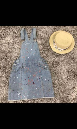 Cotton on washed out dungaree