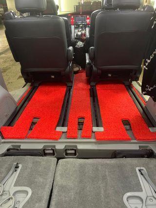 carpet for estima 7 seaters