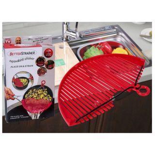 🚚 BETTER STRAINER 多功能廚房食材瀝水器